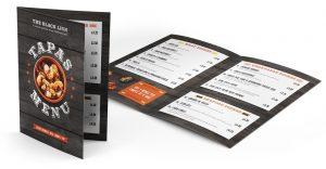 Keefomatic menu design