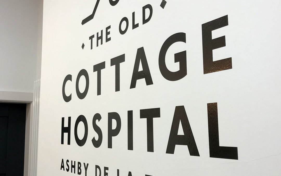 Old Cottage Hospital logo designed by Keith Barker of Keefomatic