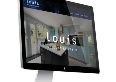 Web design – Louis Bespoke Kitchens