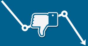 Facebook reach in decline
