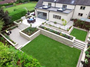 Garden photography by drone