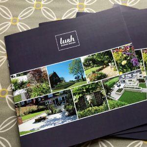Lush Garden Design branding