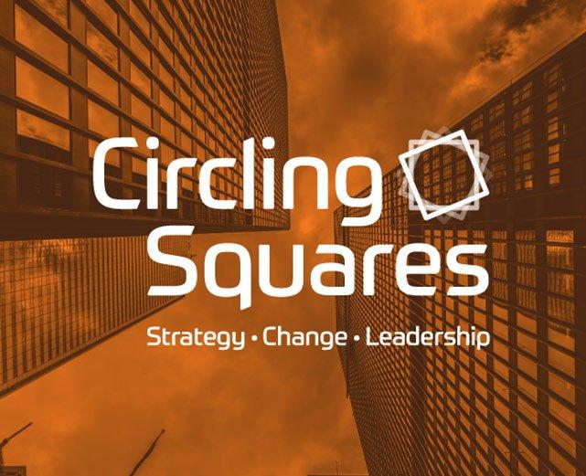 Circling Squares logo
