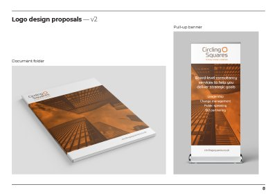 Circling Squares brand Development