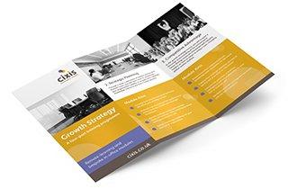 Print for networking – DL folded leaflets